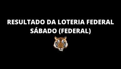 Resultado da loteria federal de hoje 19hs 24-10-2020